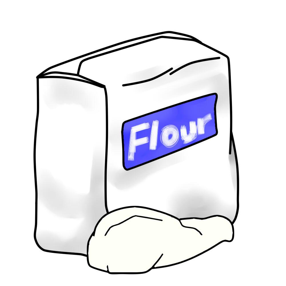 Flour Free Clipart