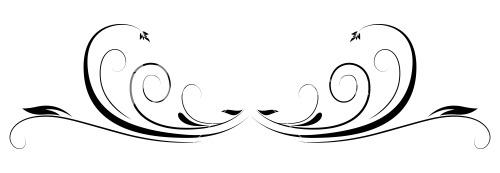 Flourish Design Clipart .-Flourish Design Clipart .-10