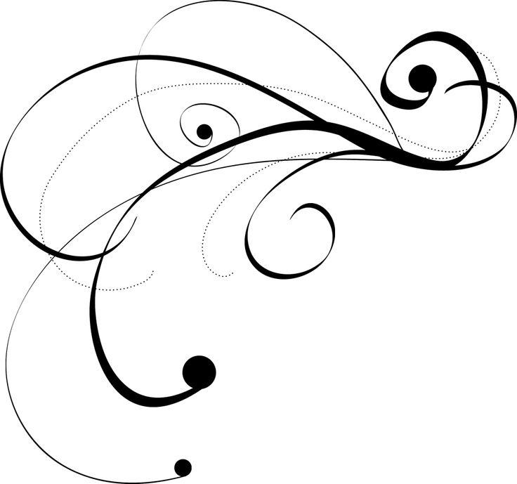 Flourish Line Clipart Tattoos Free Images
