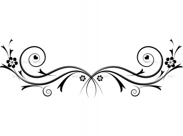 Flourishes Decorations Black Curly Flour-Flourishes decorations black curly flourishes swirls clipart-3