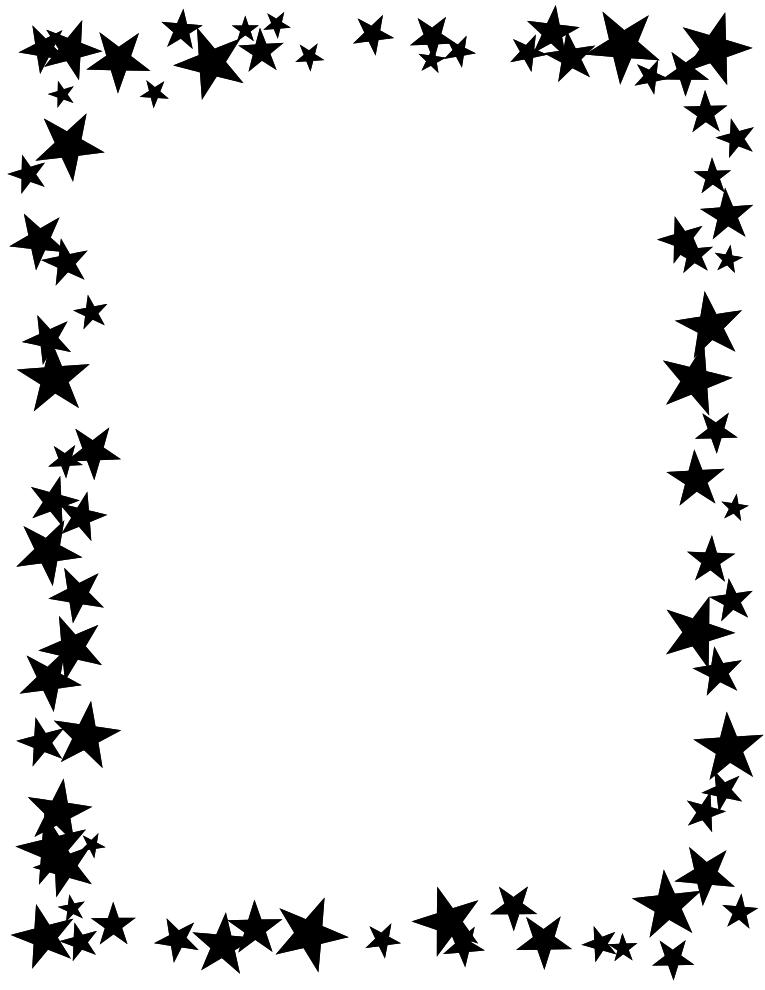 Flower Border Clip Art Black And White-flower border clip art black and white-10