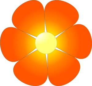 flower clip art outline - Clip Art Of Flowers