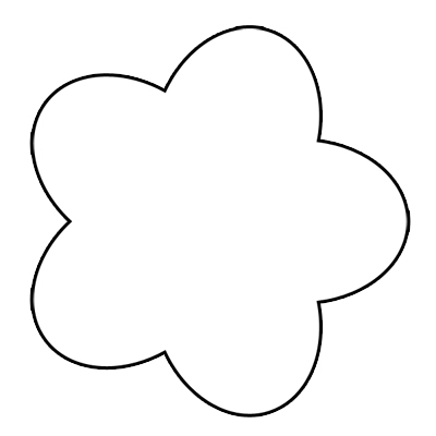 flower clip art outline