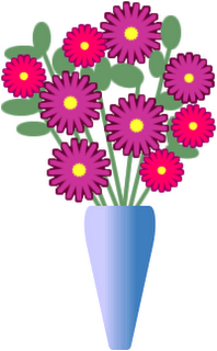 286 : flowers in vase clip art - startupinsights.org