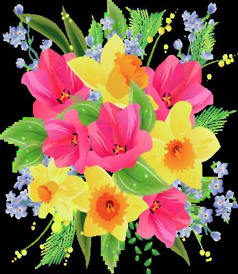 Flower Bouquet Clip Art Free - ClipartFe-Flower bouquet clip art free - ClipartFest-8