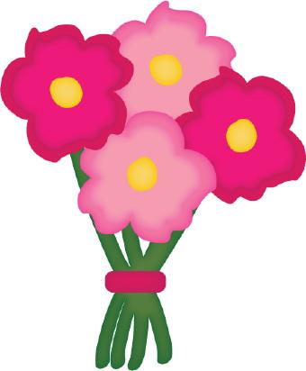 Flower Bouquet Clipart-flower bouquet clipart-10