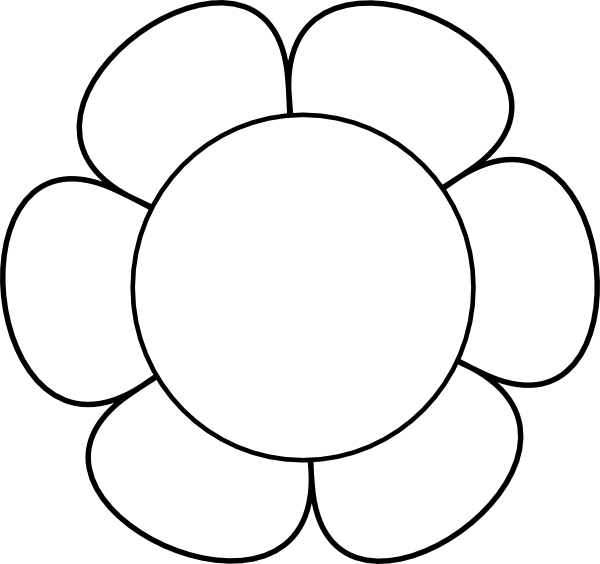 Flower Bouquet Outline Clipart Clipart Panda Free Clipart Images