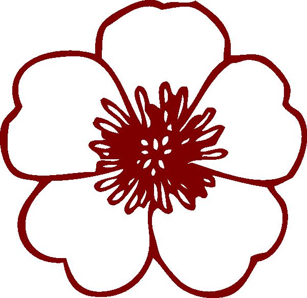 Flower Clip Art At Clker Com Vector Clip Art Online Royalty Free
