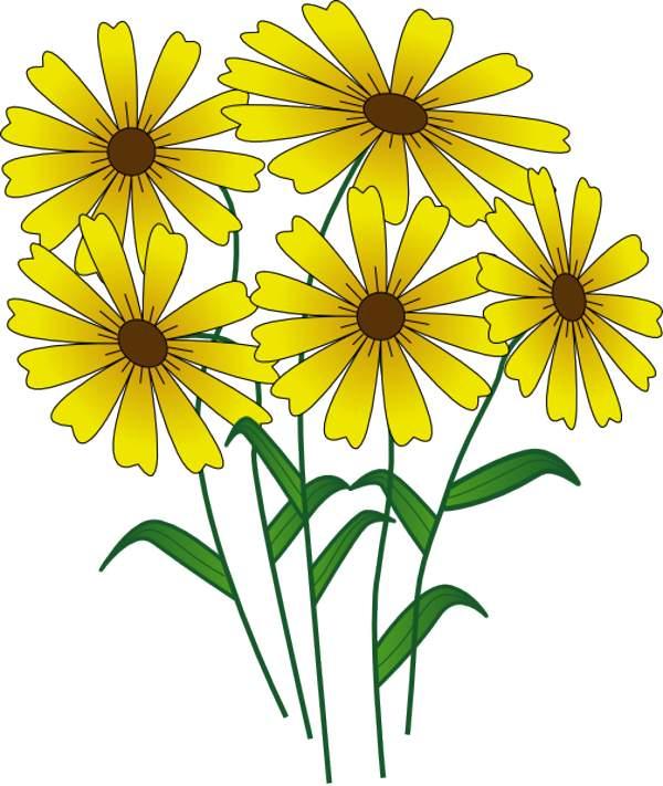 Flower Clip Art Free Download .-Flower clip art free download .-6