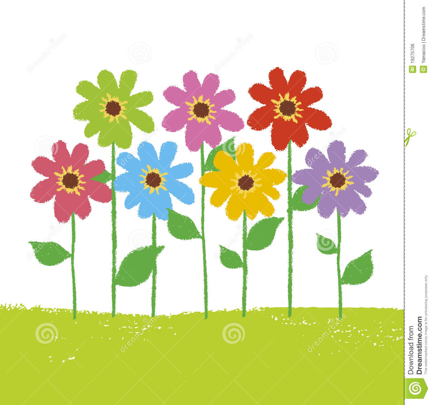 94 Flower Garden Clipart Clipartlook
