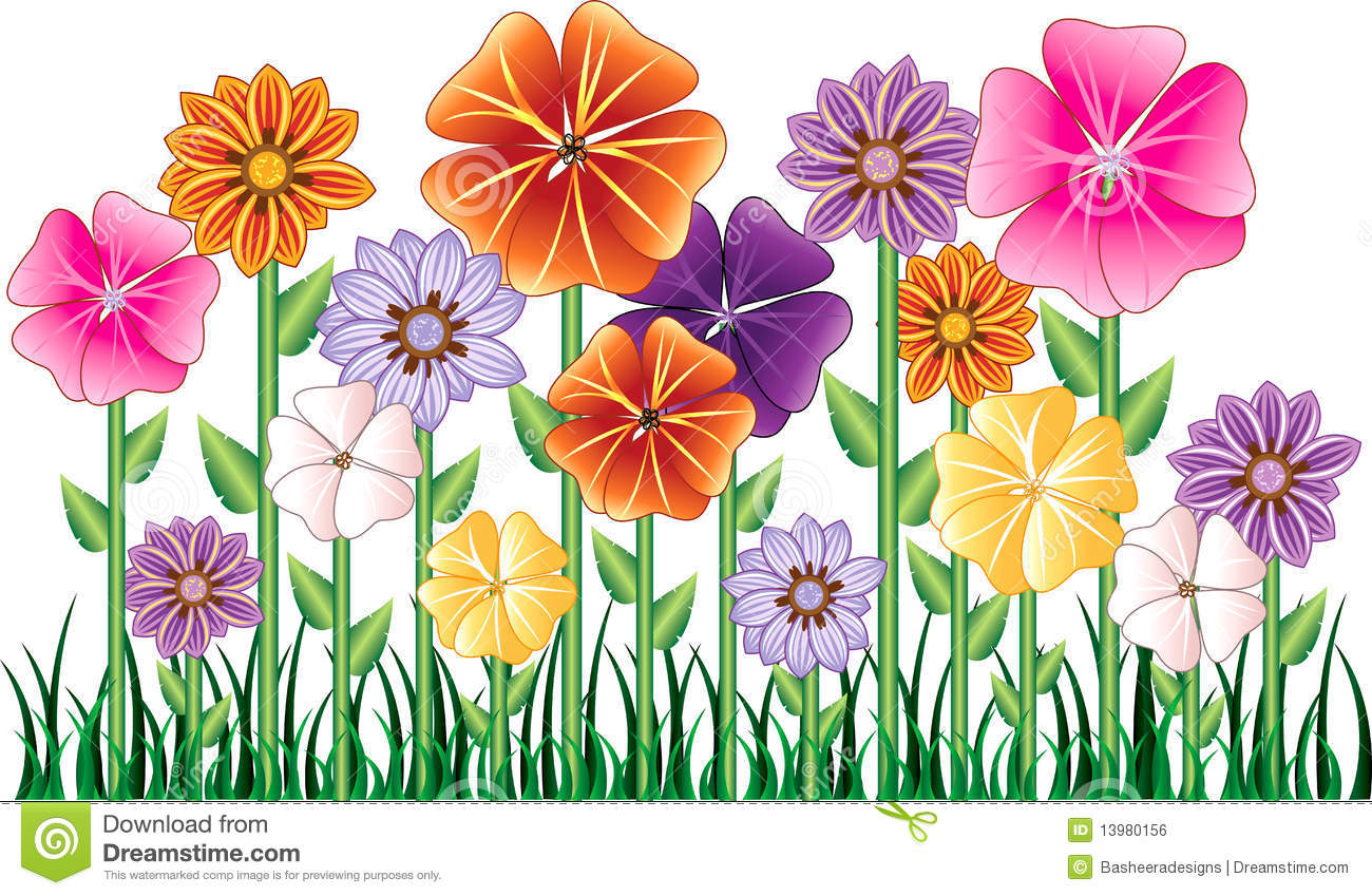 Flower Garden Royalty Free Stock Image Image 13980156