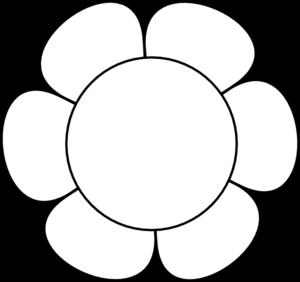 Flower Line Clipart Kid-Flower Line Clipart Kid-8