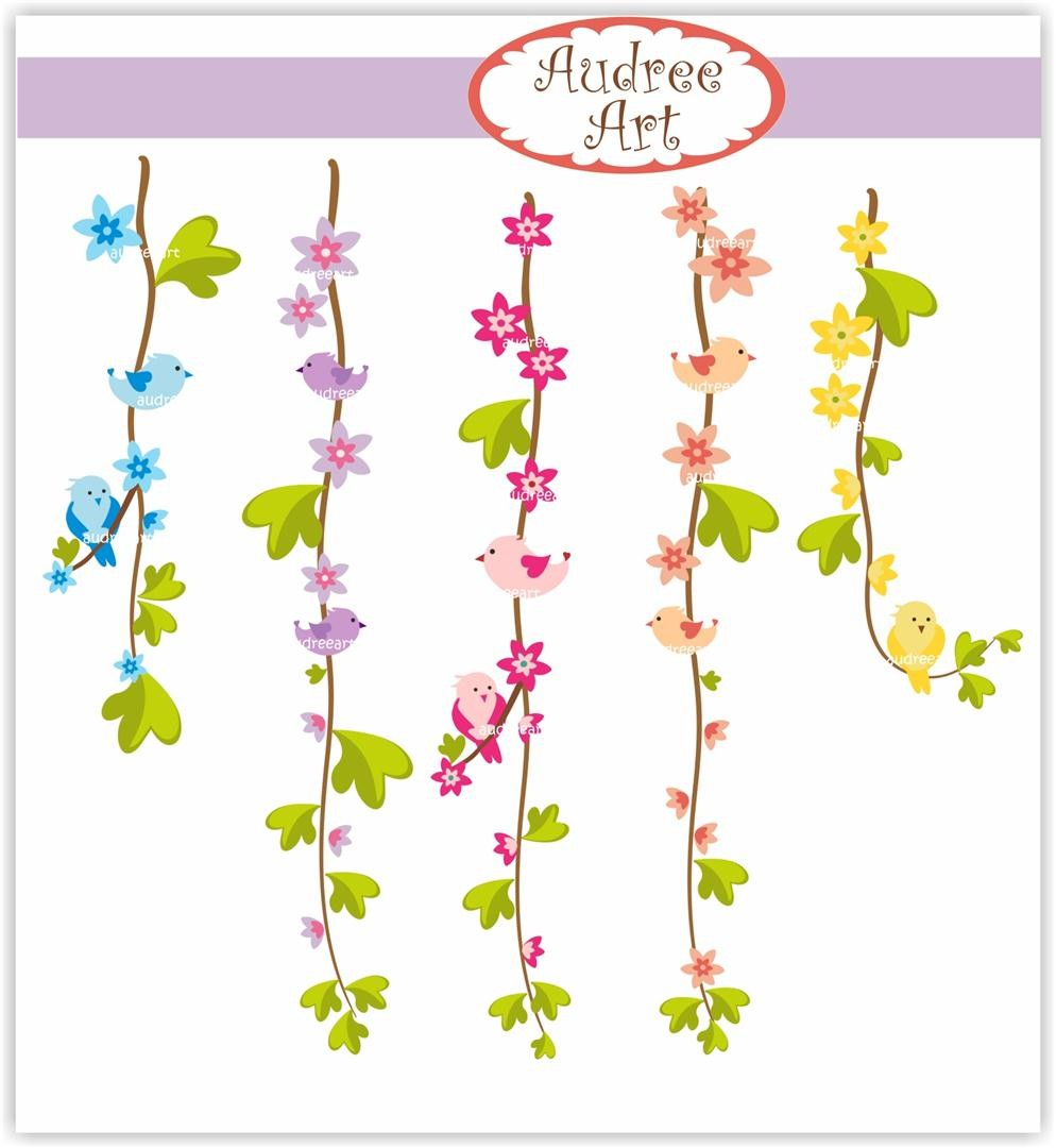 Flower Vine Clipart And Flowers Vine Summer