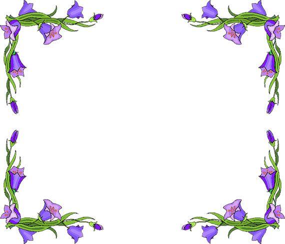 Clip art · Free Flower Borders ClipartLook.com