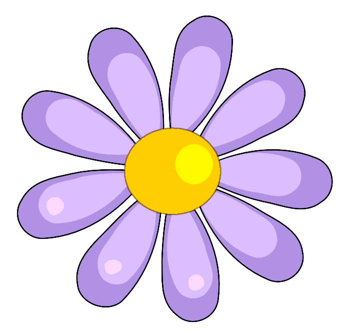 Flowers Clip Art | Clipart library - Free Clipart Images
