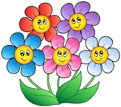 Flowers Clip Art. Get free backgrounds, images, bullets, buttons, sets, borders, cool lines