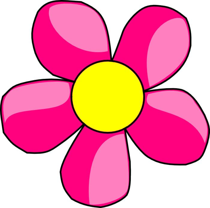 flowers clip art pink | Free Reference Images