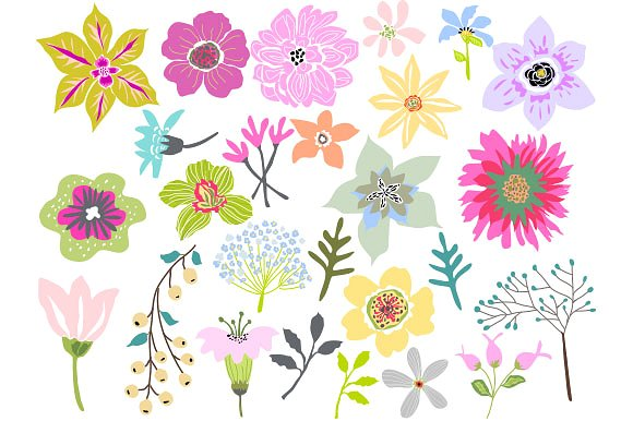 Flowers Clipart-Clipartlook.com-580