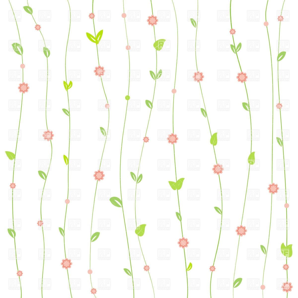 Flowers Clipart Background - Free Clipart Backgrounds