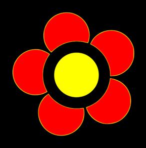 Flower Color Clip Art