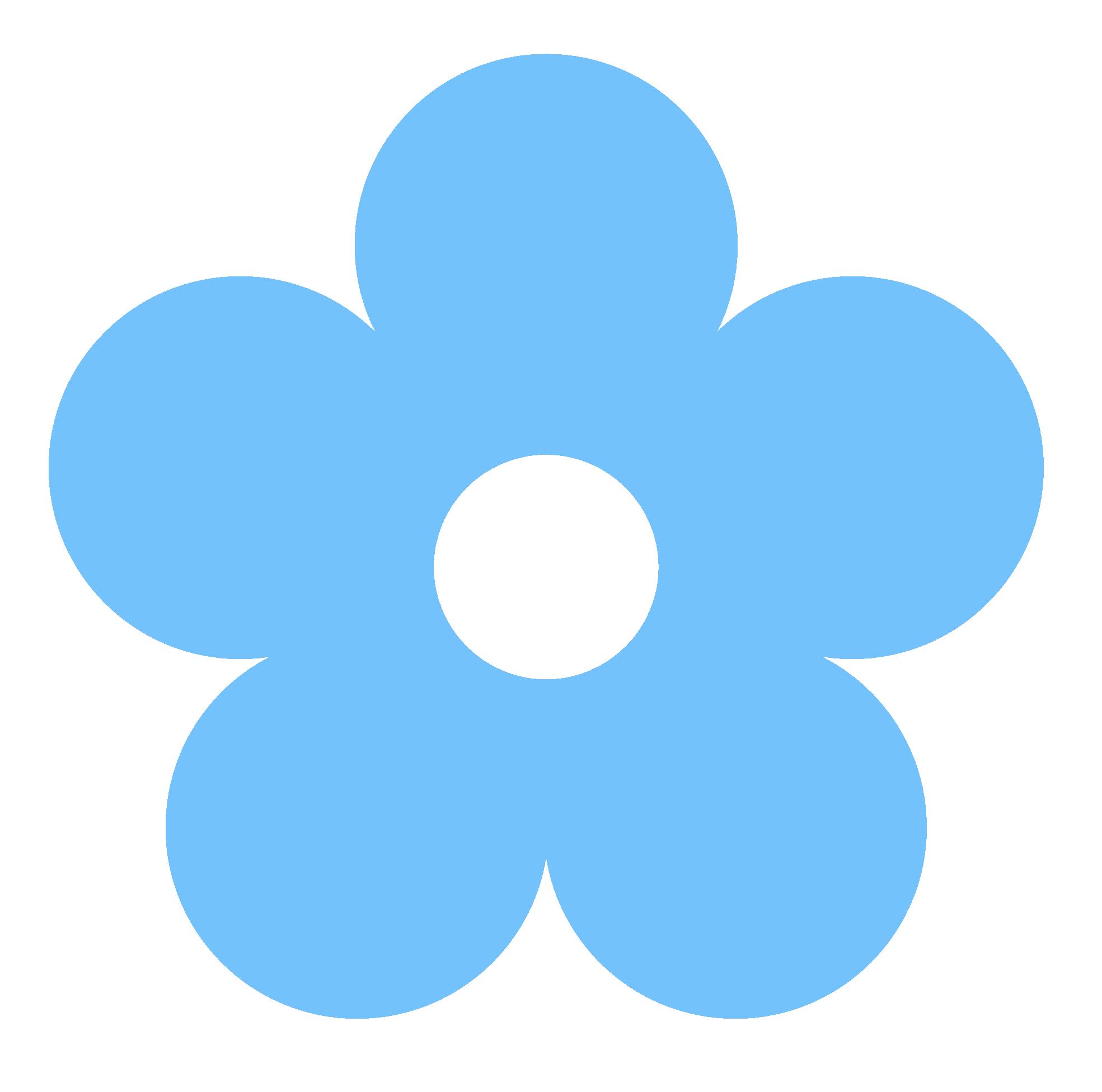 Flowers For Blue Flower Clip .