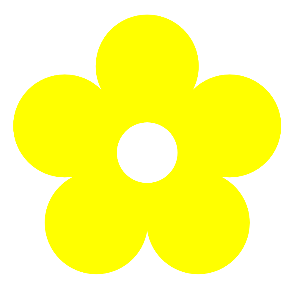 Flowers For Yellow Flower Clip Art