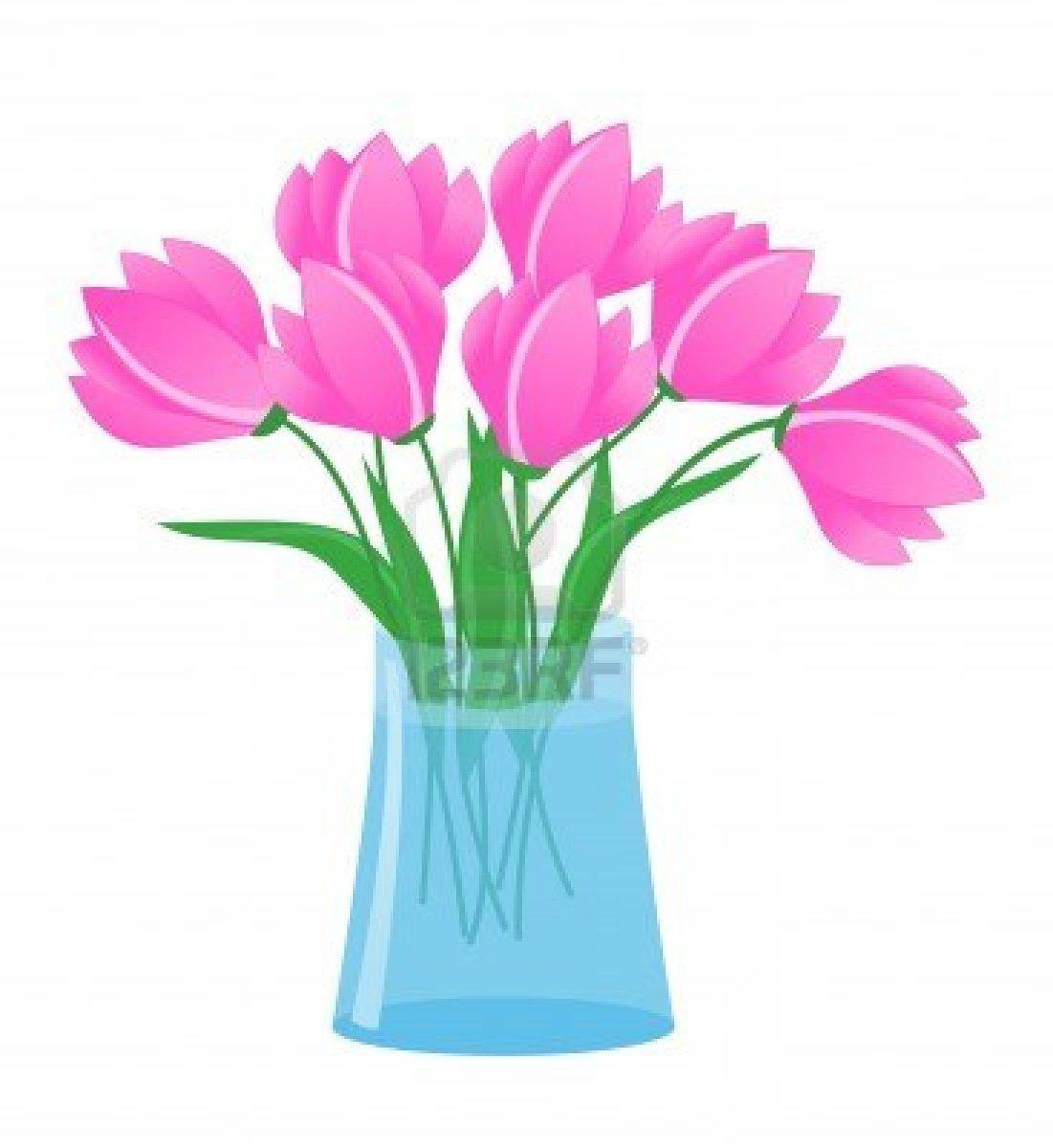 Flowers In A Vase Clipart Flowers In Vas-Flowers In A Vase Clipart Flowers In Vase Stock Vector-9
