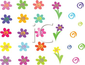 Flowers Yellow Flower Clip Ar - Whimsical Clip Art