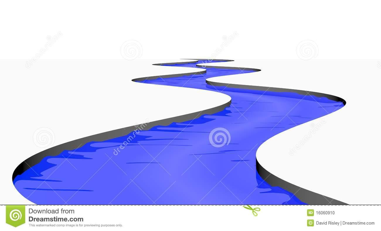 Flowing River Clipart-flowing river clipart-2