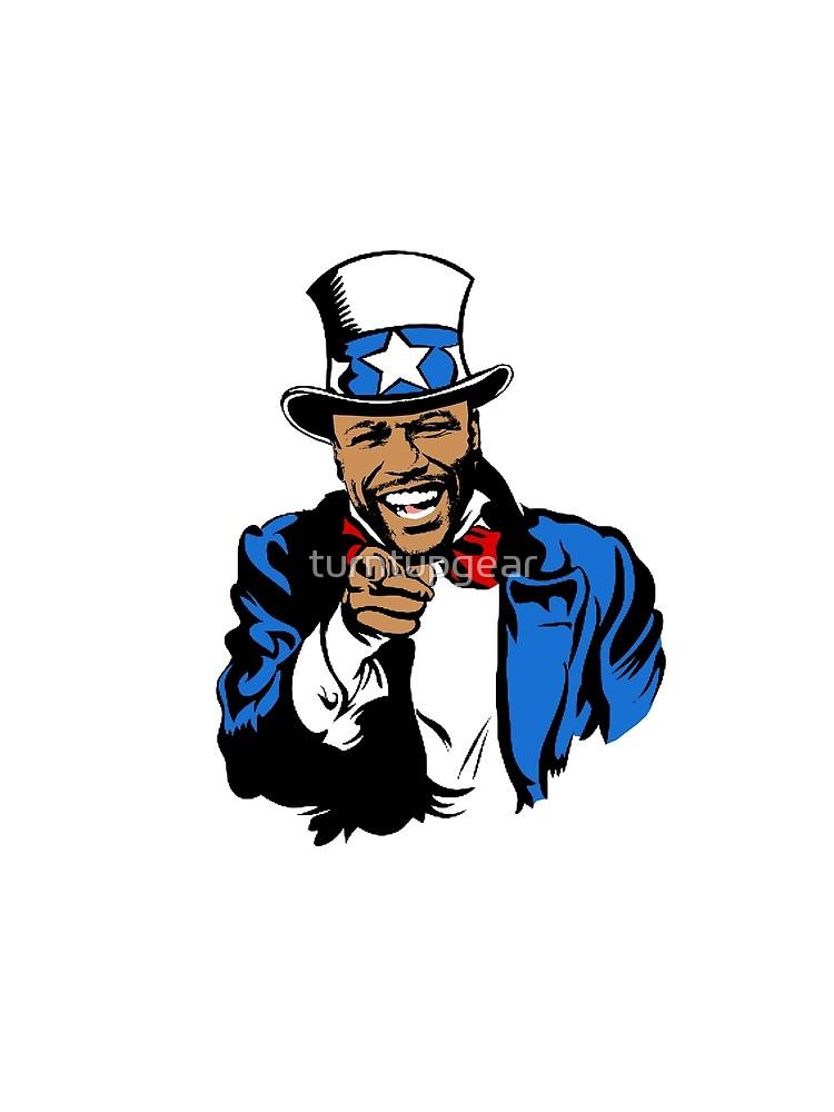 Floyd Mayweather Uncle Sam Cartoon (Ligh-Floyd Mayweather Uncle Sam Cartoon (Light) by turntupgear-15