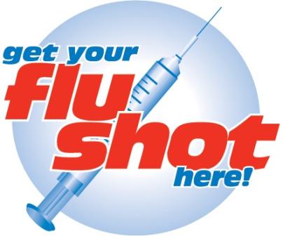 Flu Shot Clinic Clipart #1