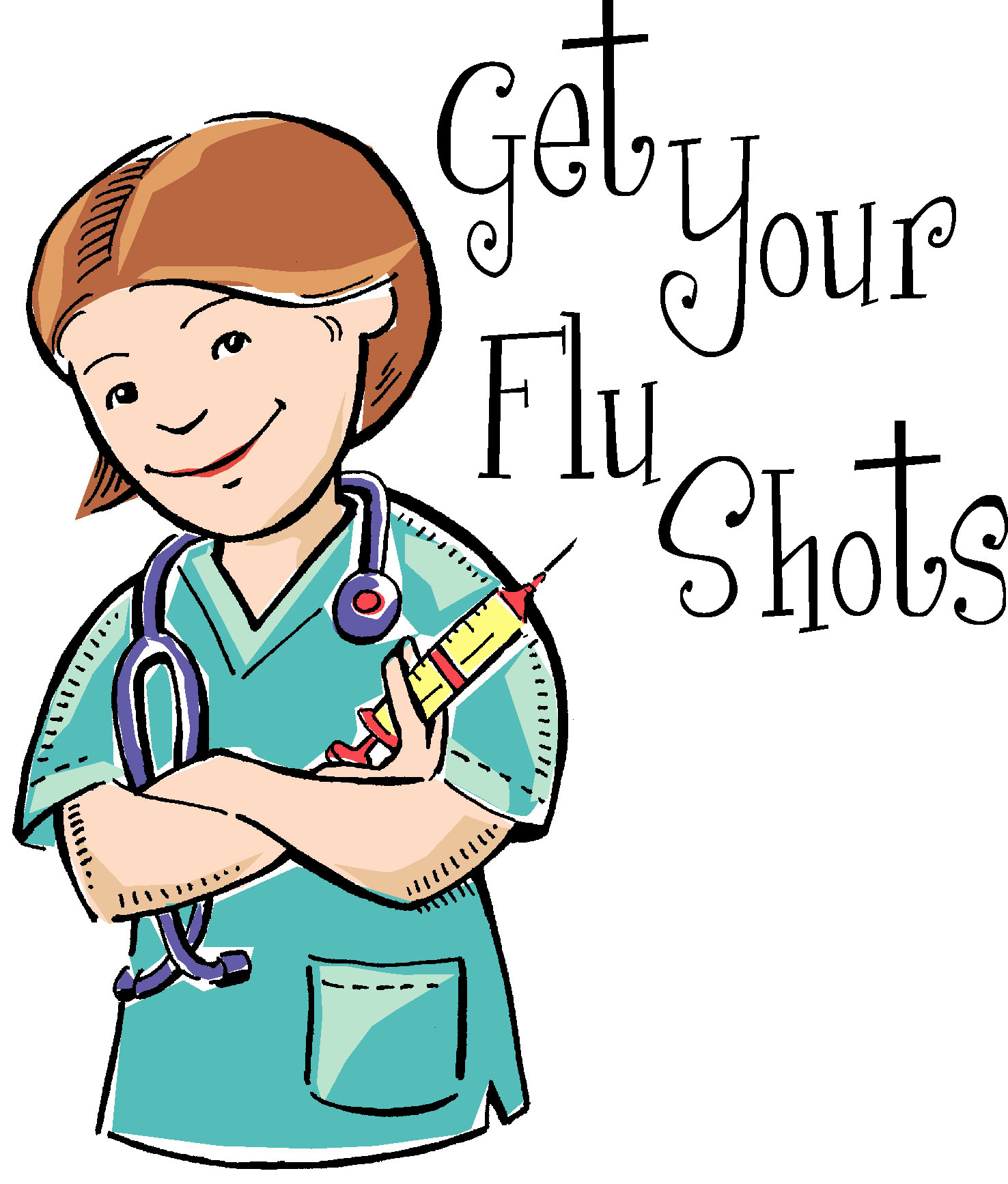 Flu Shot Clipart