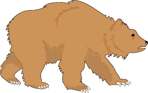 Fluffy Brown Bear Clip Art Animal Downlo-Fluffy Brown Bear Clip Art Animal Download Vector Clip Art Online-12