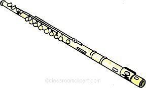 Flute Clip Art-Flute Clip Art-1