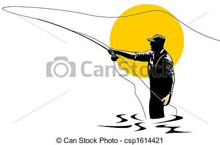 Fly Fishing Clip Art