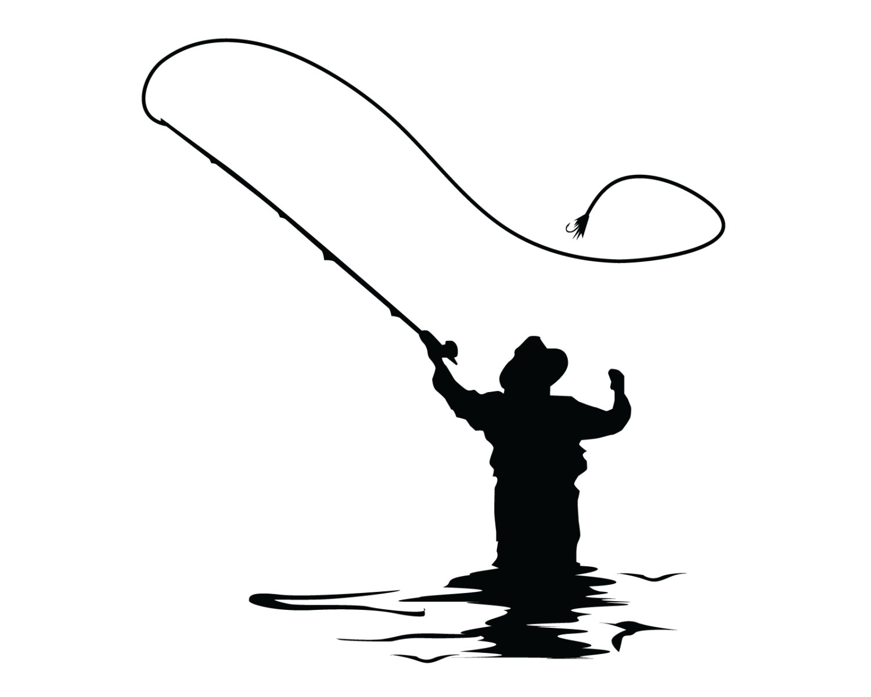... Fly Fishing Clipart; Fly Fishing Dec-... Fly Fishing Clipart; Fly fishing decal | Etsy ...-9
