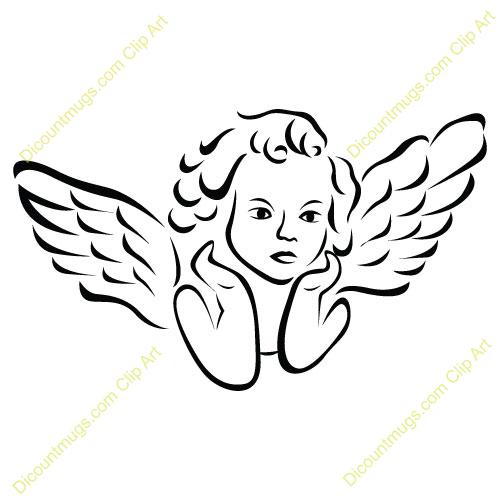 Flying Angel Clipart Angel Flying Wings Girl