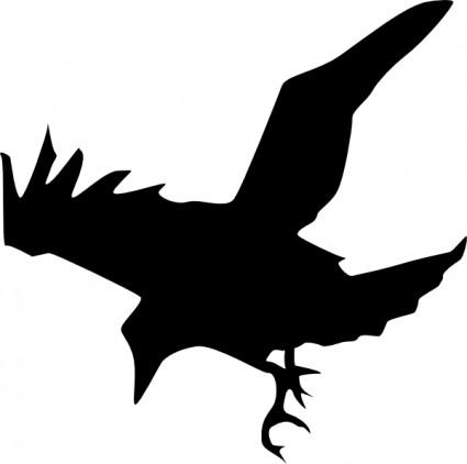 Flying bird .