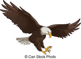 Flying Eagle Clip Artby Atee8349/8,818; -Flying eagle Clip Artby atee8349/8,818; Eagle - Vector illustration of a Bald Eagle, isolated on a.-17
