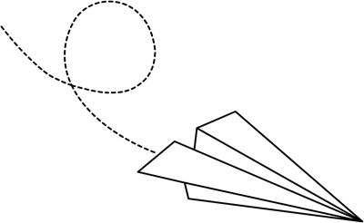 Flying Paper Airplane Clipart Paper Airp-Flying Paper Airplane Clipart Paper Airplane With Flying-1