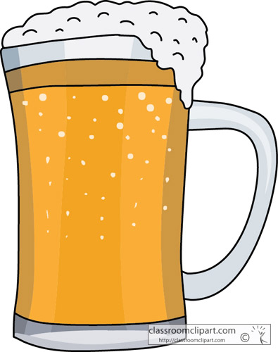 Foamy Mug Beer Clip Art