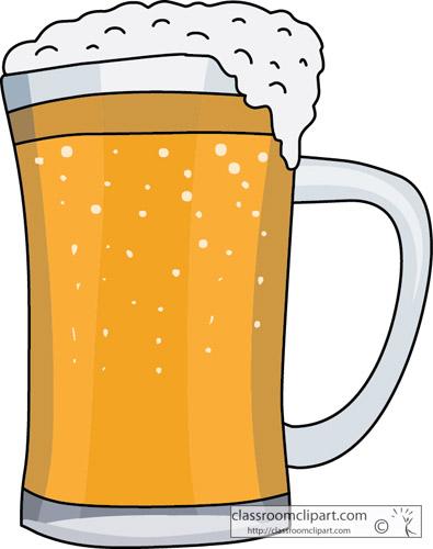 Foamy Mug Beer Clip Art
