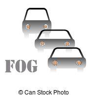 ... fog warning sign - driving in fog warning sign illustration... fog warning sign Clipartby ...