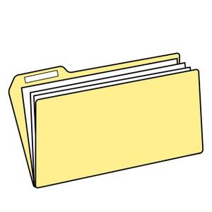 Folder Clipart Image: File Folder-Folder Clipart Image: File Folder-13