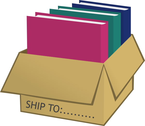 Folders In Shipping Box Clip Art-Folders In Shipping Box Clip Art-2
