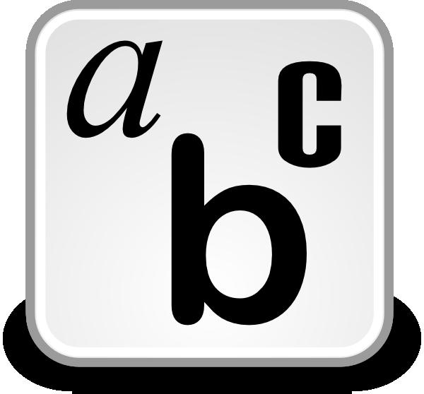 Font Clipart .-Font Clipart .-8