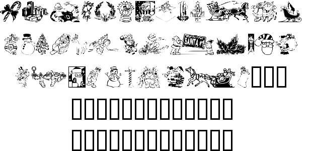 Font Xmas Clipart 2-Font Xmas Clipart 2-12