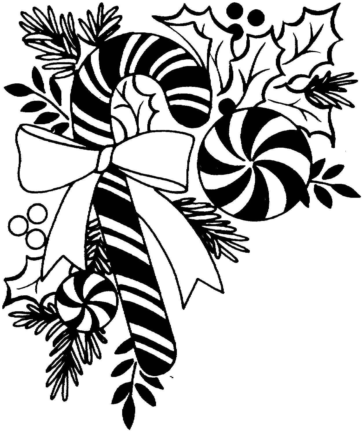 Fonts Icons Clipart Black And White Christmas Designs 001 100