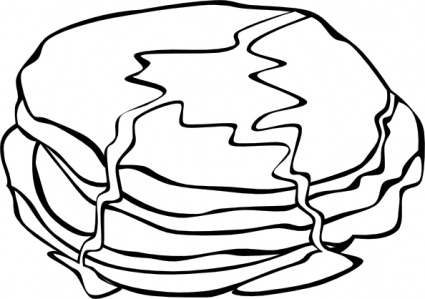Food Clipart Black And White-food clipart black and white-8