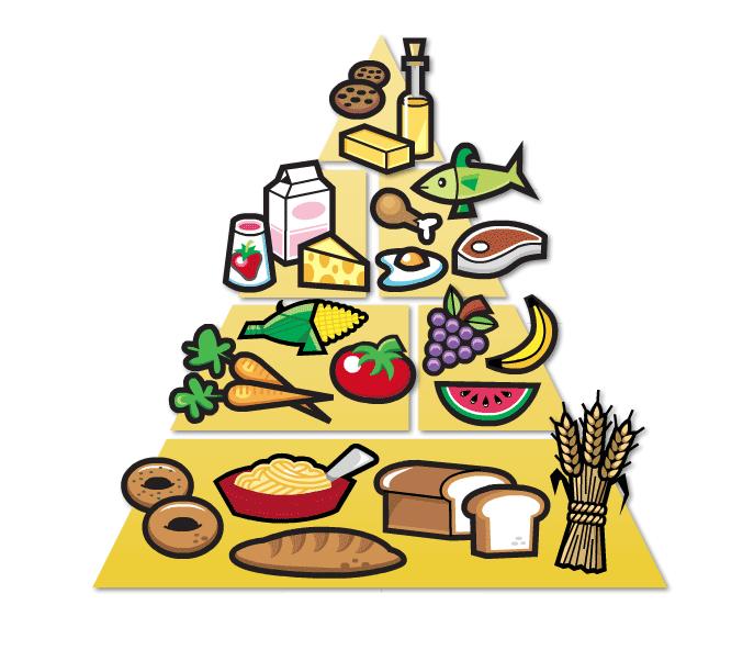 food pyramid clipart-food pyramid clipart-2